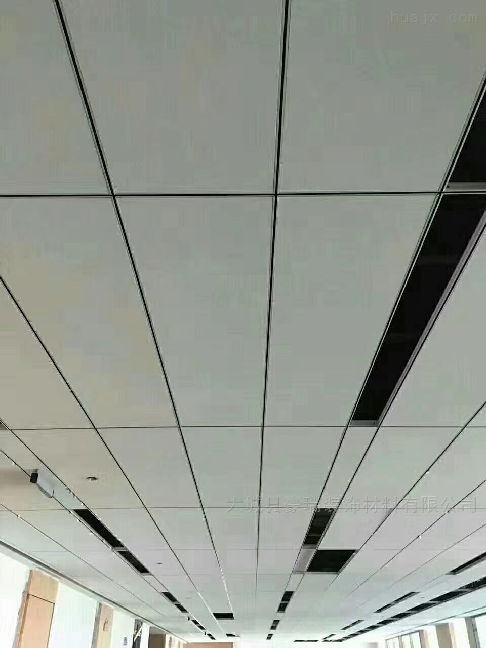 生产岩棉玻纤吸音吊顶板可以保护人体健康